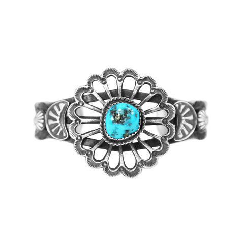 Morenci Turquoise Cast Cuff Bracelet - Style 2