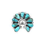 Sleeping Beauty Turquoise Naja Ring