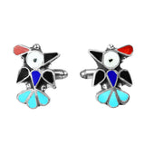 Zuni Inlay Thunderbird Cufflinks