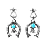 Cast Naja Turquoise Post Dangle Earrings