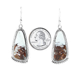 Navajo Wild Horse Silver Dangle Earrings