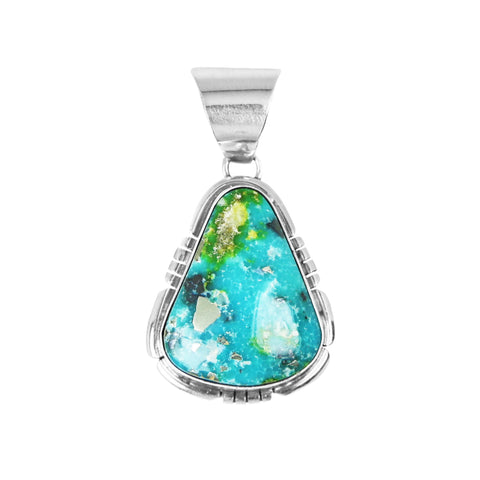 Sonoran Turquoise Silver Pendant