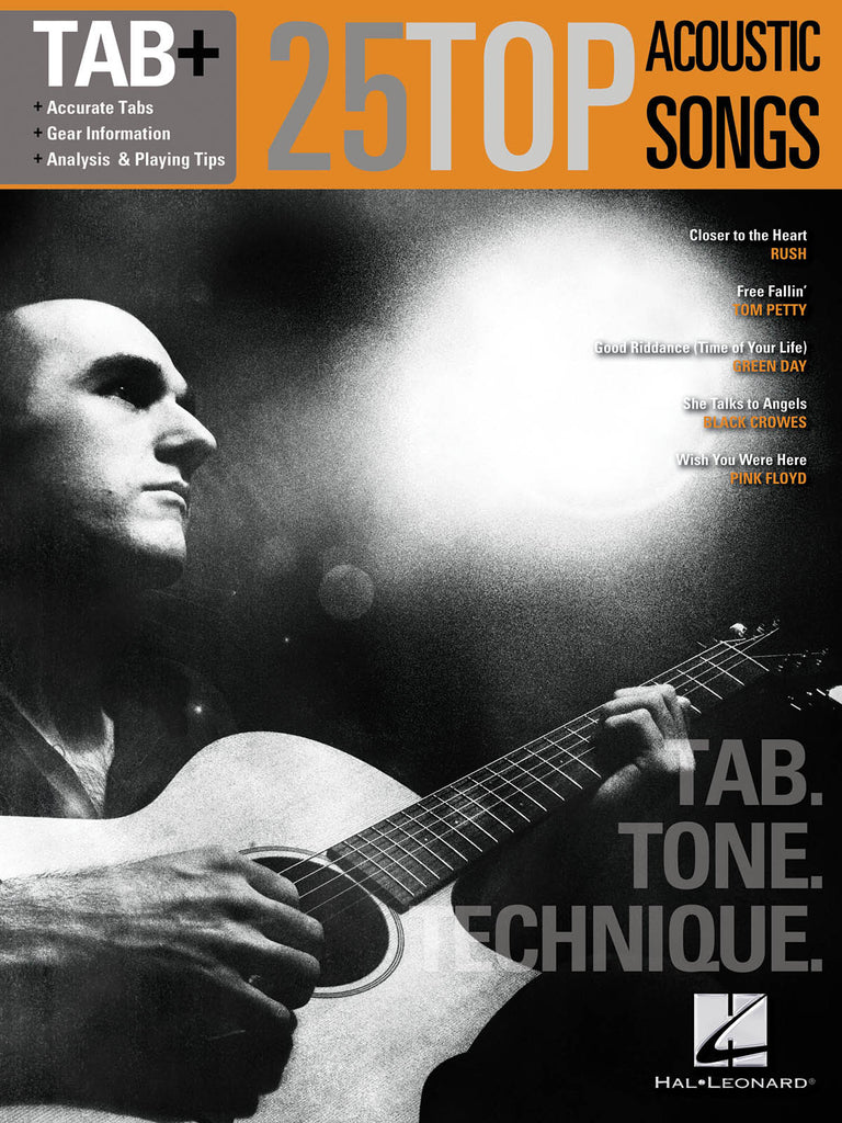 25 Top Acoustic Songs – Tab. Tone. Technique. - NewBay Media Online Store
