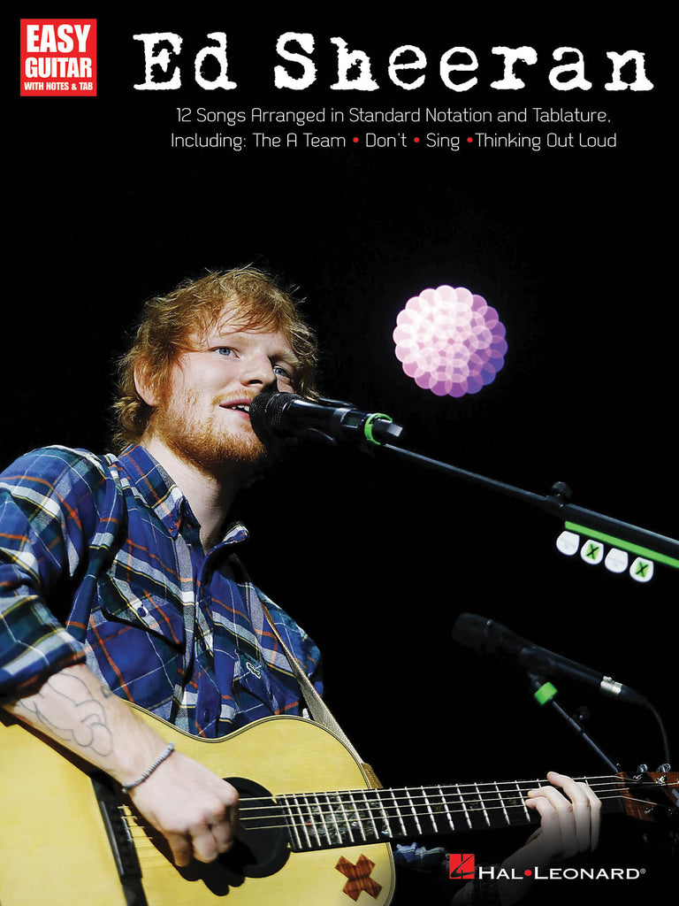 Ed Sheeran for Easy Guitar - NewBay Media Online Store