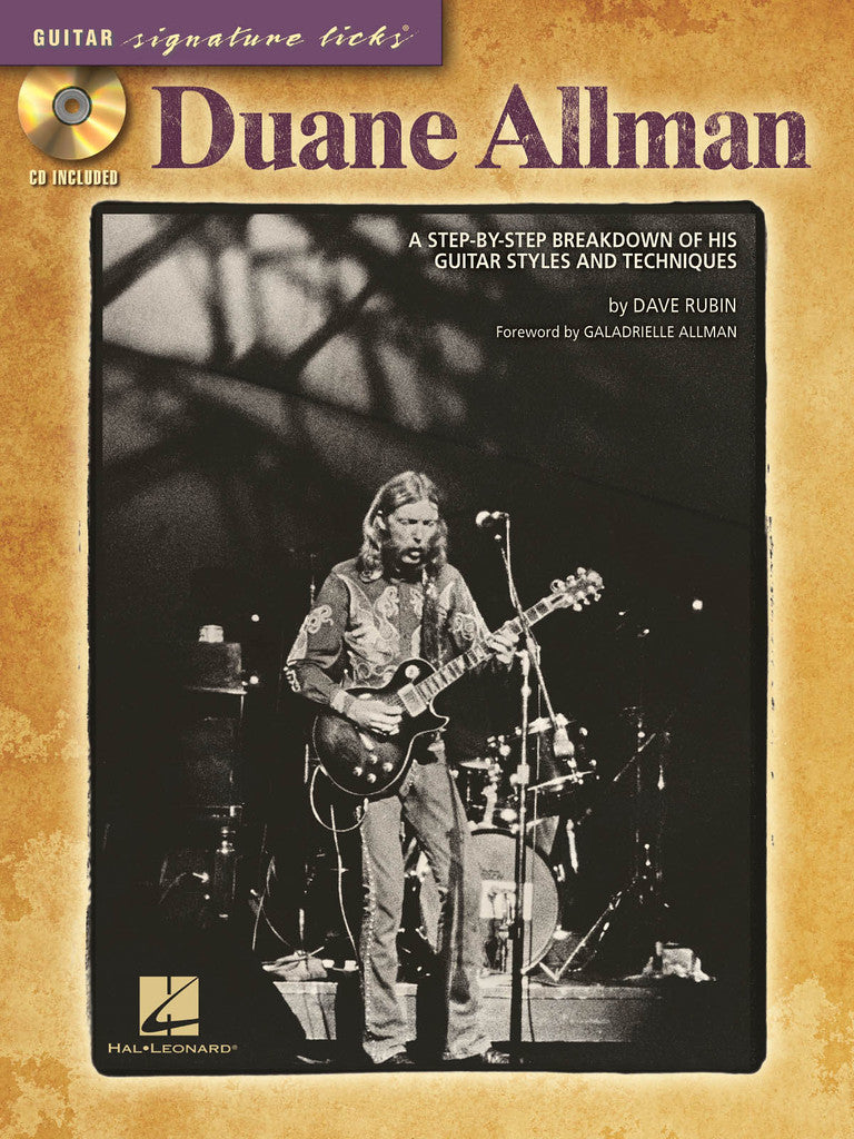 Duane Allman - A Step-by-Step Breakdown of His Guitar Styles and Techniques - NewBay Media Online Store