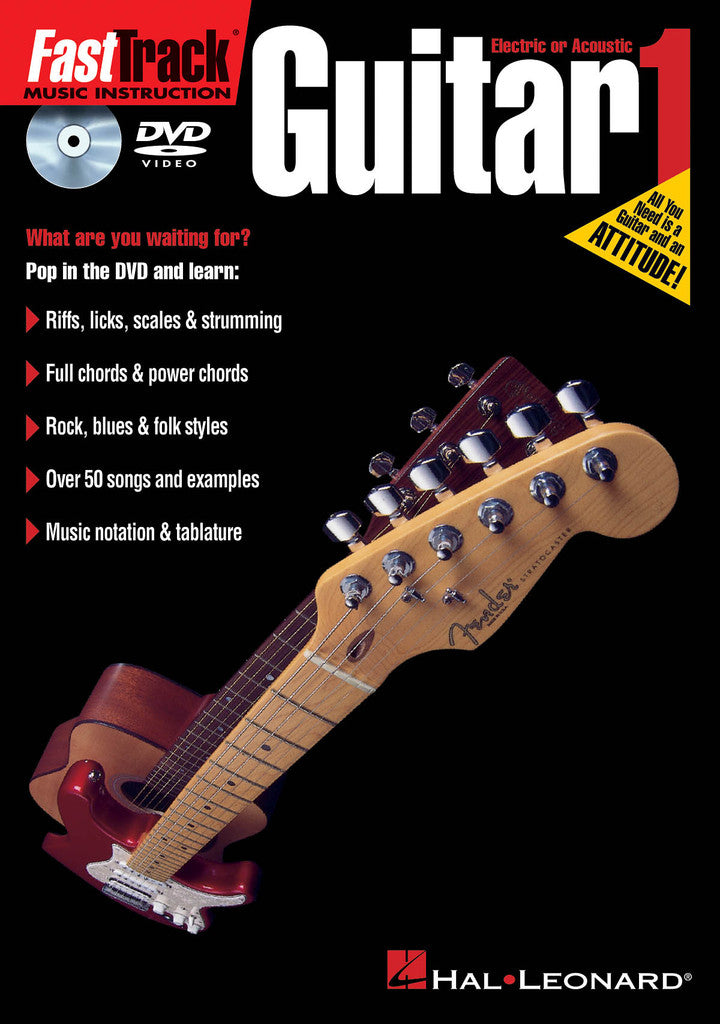 FastTrack Guitar Method 1 - DVD