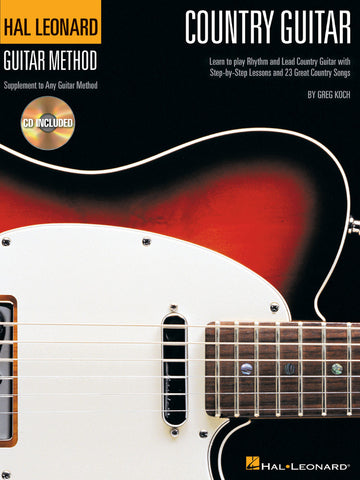 Hal Leonard Country Guitar Method - NewBay Media Online Store