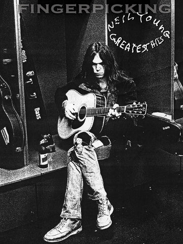 Fingerpicking Neil Young's Greatest Hits