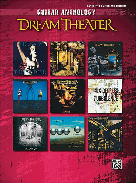 Dream Theater – Guitar Anthology - NewBay Media Online Store