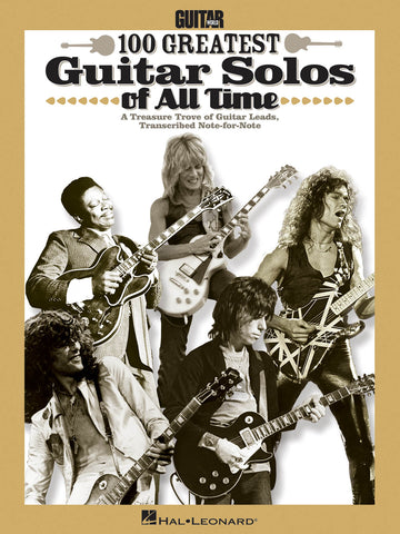 Guitar World's 100 Greatest Guitar Solos of All Time - NewBay Media Online Store