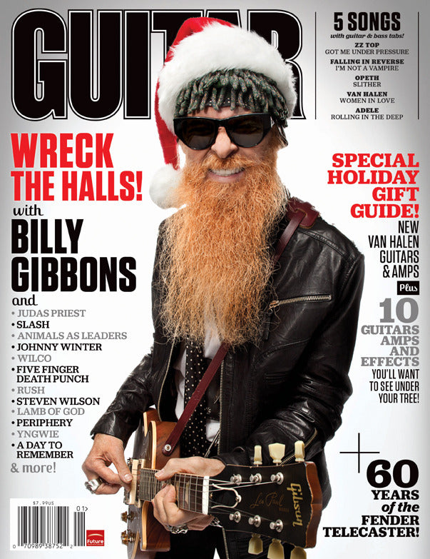 Guitar World - Jan-12 - Billy Gibbons