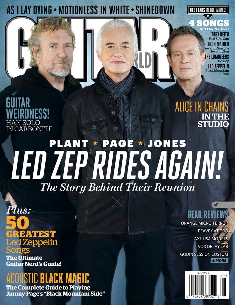 Guitar World - Jan-13 - Led Zeppelin - NewBay Media Online Store