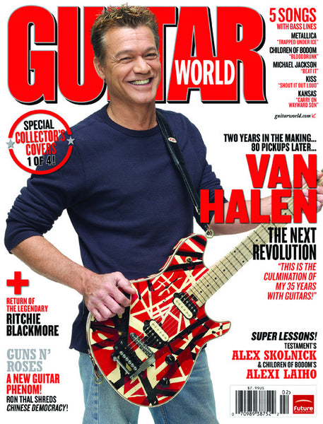 Eddie Van Halen Guitar World Box Set - NewBay Media Online Store