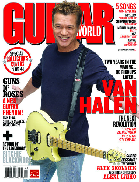 Eddie Van Halen Guitar World Box Set