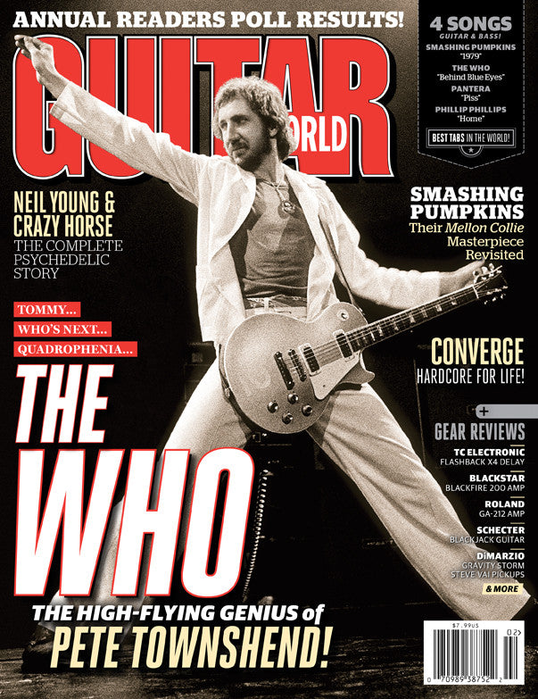 Guitar World - Feb-13 - The Who - NewBay Media Online Store