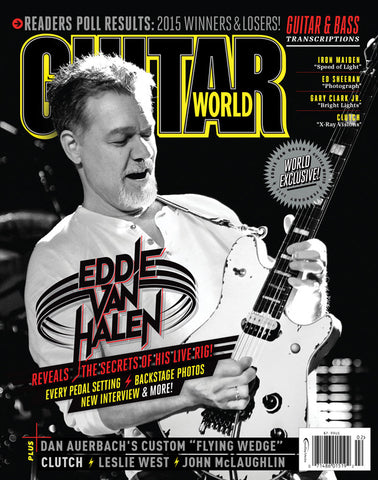 Guitar World - February 2016 - Eddie Van Halen