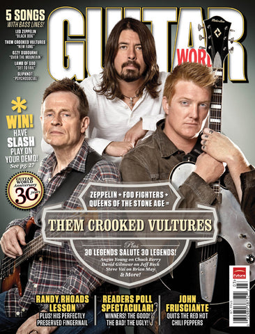 Guitar World - Mar-10 - Them Crooked Vultures - NewBay Media Online Store