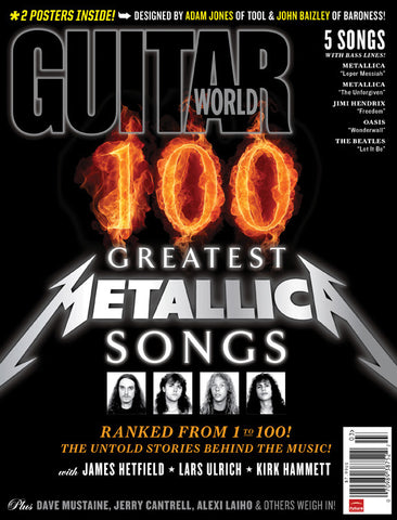 Guitar World - Mar-11 - Greatest Metallica Songs - NewBay Media Online Store
