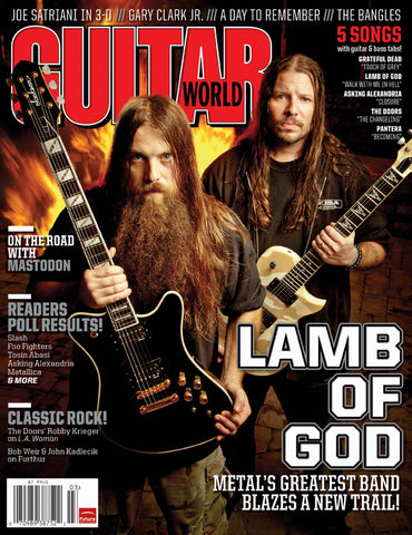 Guitar World - Mar-12 - Lamb of God - NewBay Media Online Store