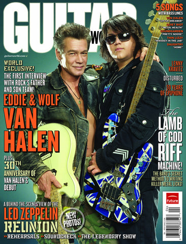 Guitar World - Apr-08 - Eddie and Wolfgang Van Halen