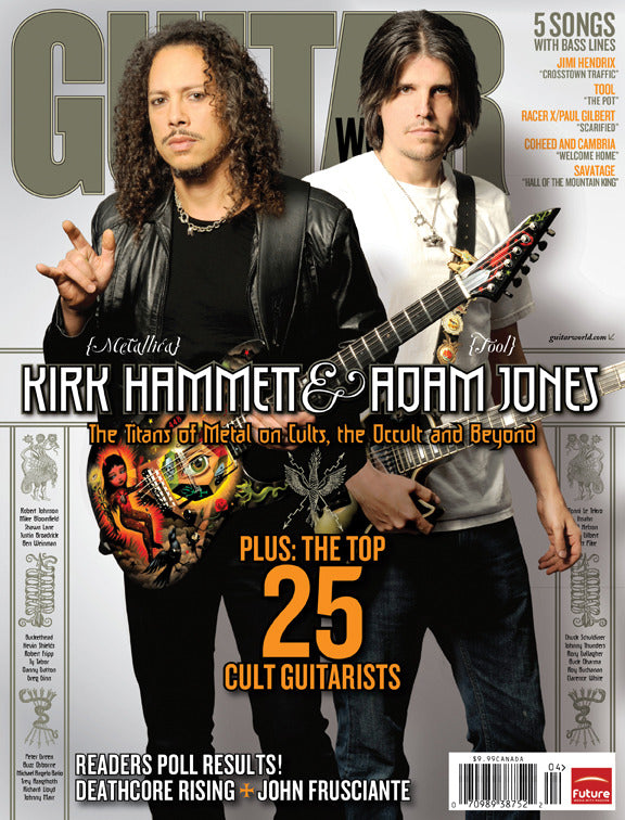 Guitar World - Apr-09 - Kirk Hammett, Adam Jones