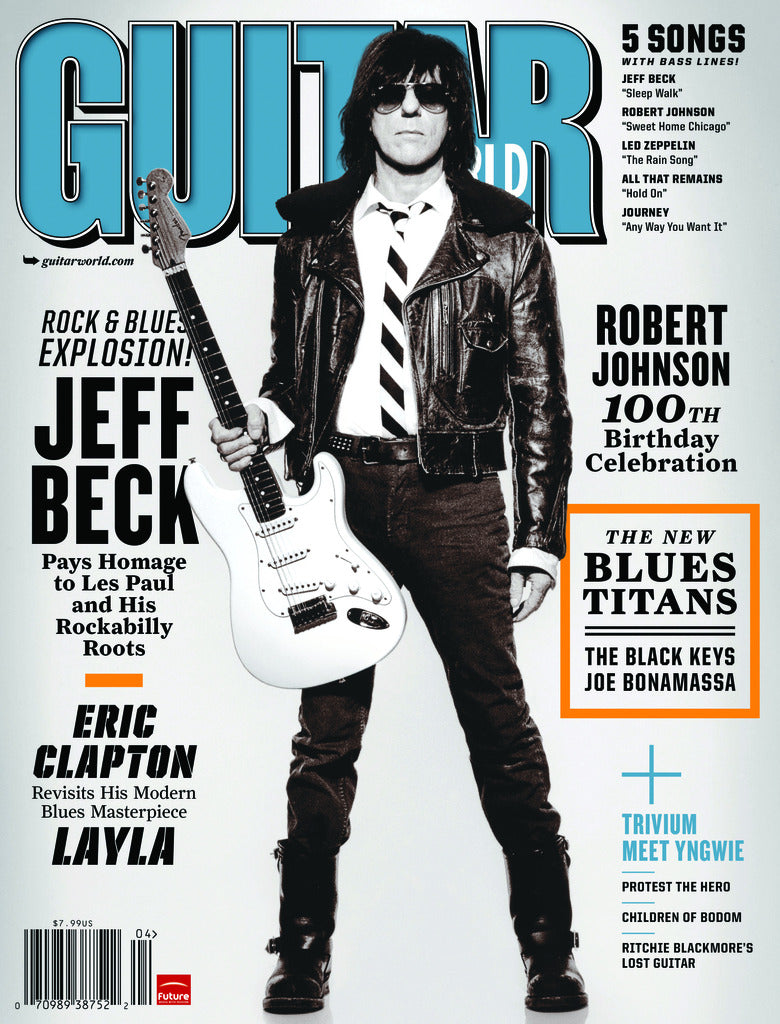 Guitar World - Apr-11 - Jeff Beck