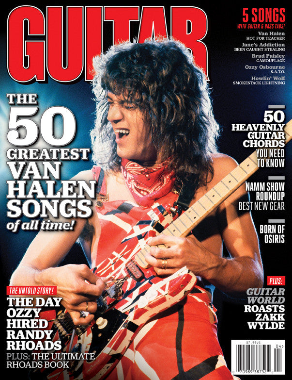 Guitar World - Apr-12 - Van Halen