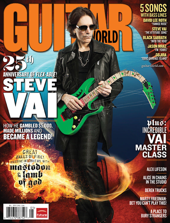 Guitar World - May-09 - Steve Vai