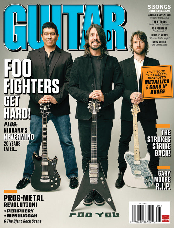 Guitar World - May-11 - Foo Fighters