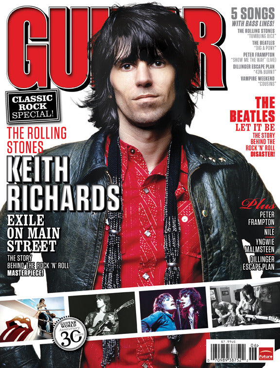 Guitar World - Jun-10 - Keith Richards - NewBay Media Online Store