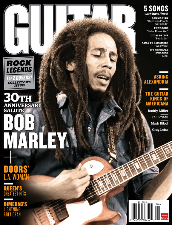 Guitar World - Jun-11 - Bob Marley & The Doors