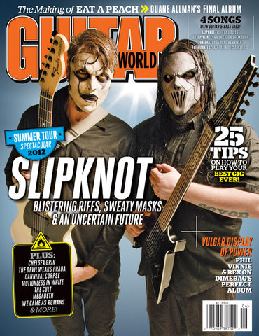 Guitar World - Jun-12 - Slipknot - NewBay Media Online Store