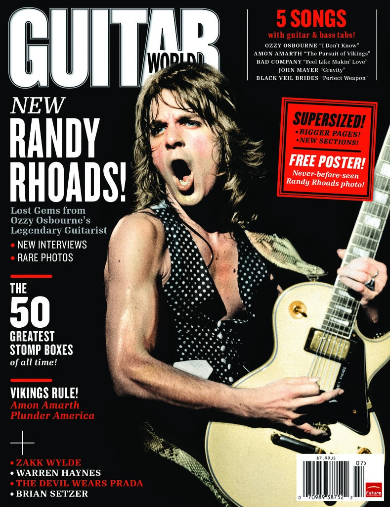 Guitar World - Jul-11 - Randy Rhoads