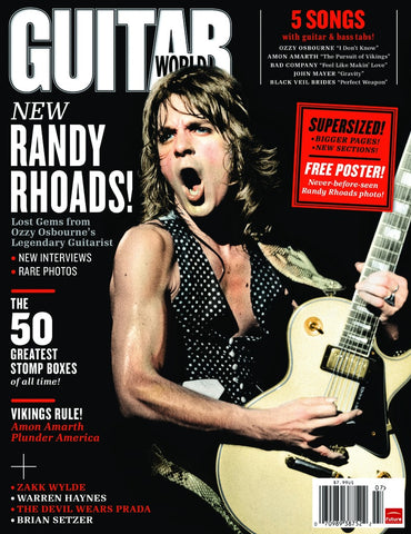 Guitar World - Jul-11 - Randy Rhoads - NewBay Media Online Store