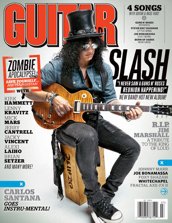 Guitar World - July -12 Slash