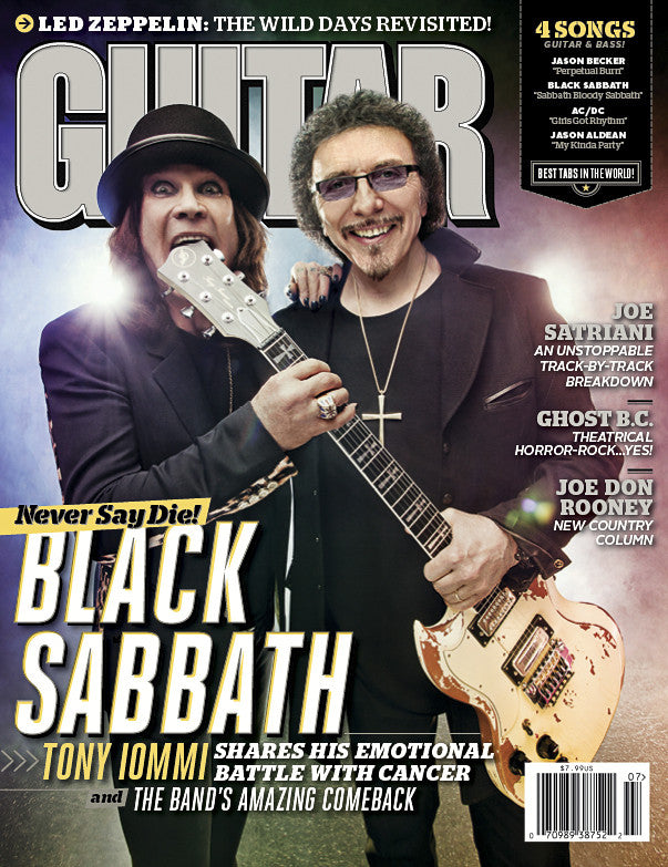 Guitar World - July-13 - Black Sabbath