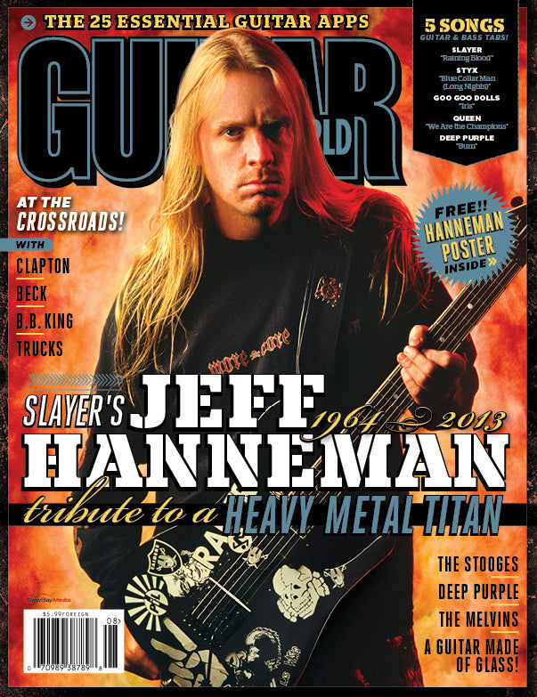 Guitar World - August-13 - Jeff Hanneman - NewBay Media Online Store