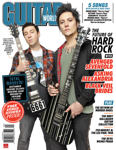 Guitar World - Sep-11 - Black Veil Brides & Asking Alexandria, Avenged Sevenfold - NewBay Media Online Store