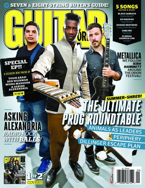 Guitar World - September-13 - Prog Rock Roundtable & Asking Alexandria