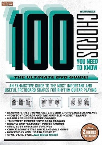 100 Chords You Need to Know DVD - NewBay Media Online Store