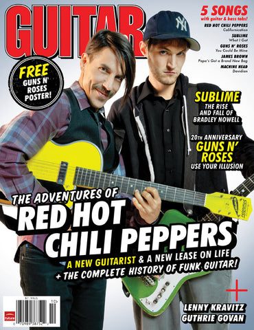 Guitar World - Oct-11 - Red Hot Chili Peppers - NewBay Media Online Store