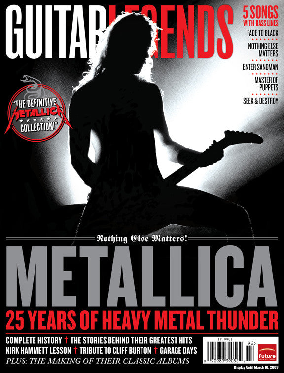 Guitar Legends - Metallica