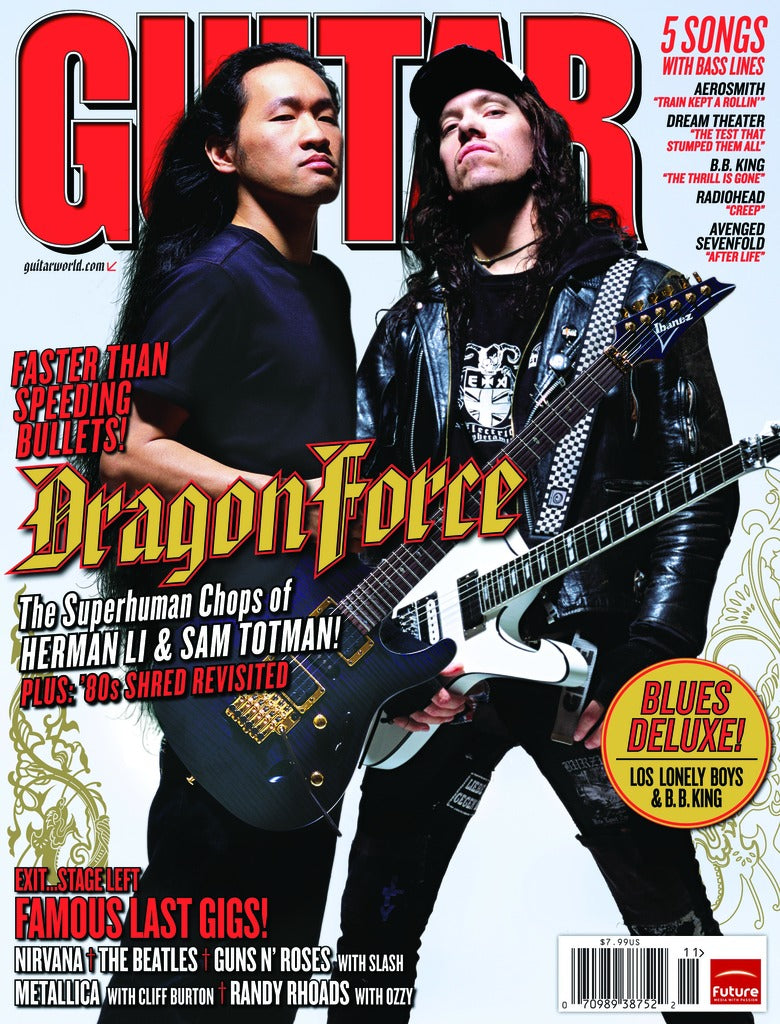 Guitar World - Nov-08 - Dragonforce - NewBay Media Online Store