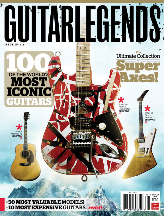 Guitar Legends - 100 of the World's Most Iconic Guitars - NewBay Media Online Store