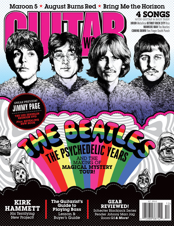 Guitar World - Dec 12 - The Beatles - NewBay Media Online Store