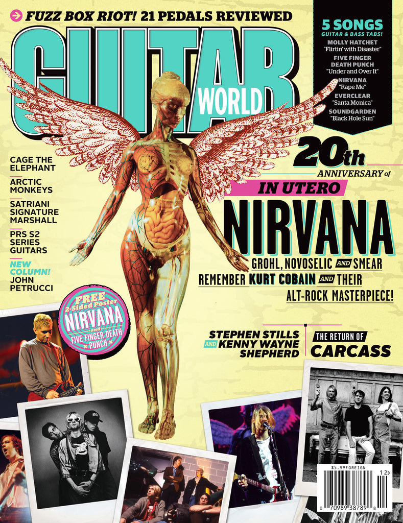 Guitar World - December-13 - Nirvana