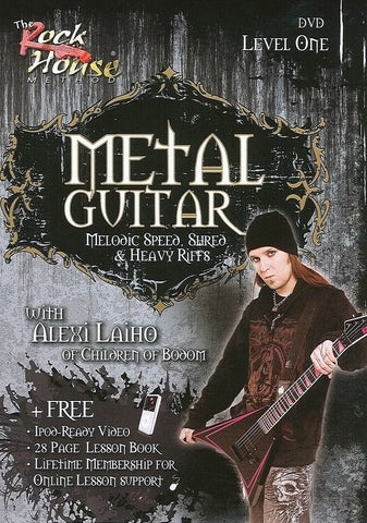 Alexi Laiho of Children of Bodom - Metal Guitar - Level One - NewBay Media Online Store