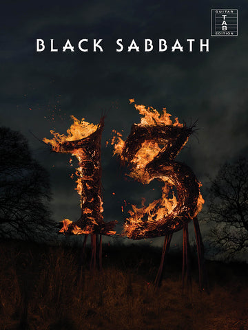 Black Sabbath - 13 - Tab Book - NewBay Media Online Store