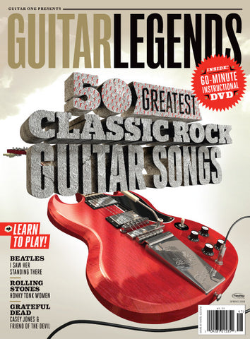 Guitar Legends - 50 Greatest Classic Rock Guitar Songs with DVD - NewBay Media Online Store