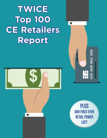 2015 TWICE Top 100 Consumer Electronic Retailers Report - NewBay Media Online Store